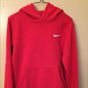 Kid's Red Nike Hoodie